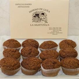 Magdalenas de chocolate (500gr)