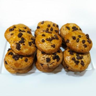 Cookies con pepitas de chocolate